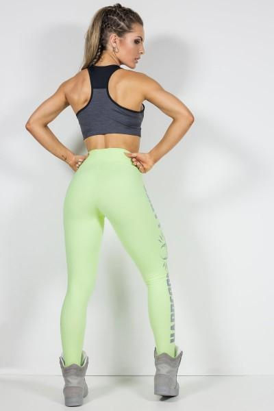 Hardcoreladies Soft Green Legging S