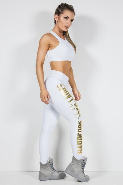 Labellamafia Legging S WHITE and GOLD