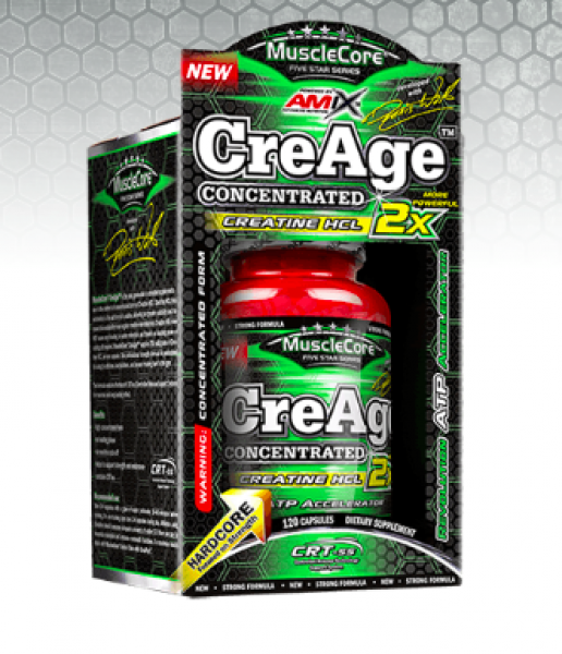 MuscleCore® DW - CreAge® Concentrated  120cps BOX