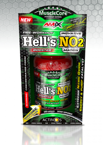 MuscleCore® DW - Hell´s NO2 ® 100cps BOX