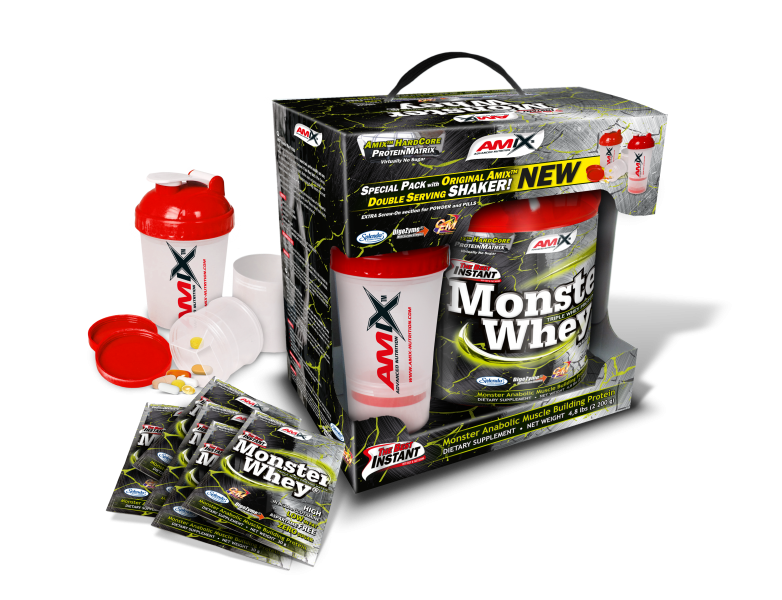Anabolic Monster Whey® 2,2kg BOX with Monster Shaker