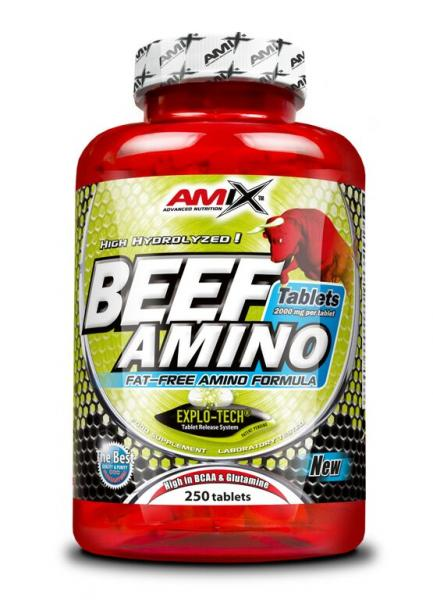 BEEF Amino Tablets 250tbl