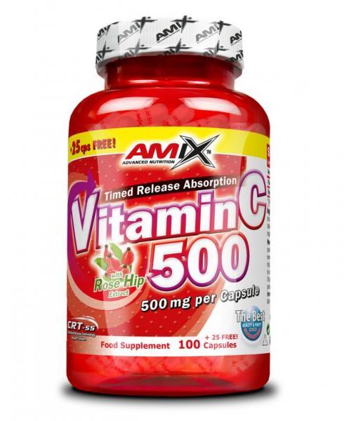 C-Vitamin 500mg 125cps