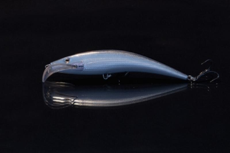 Voobler WAKE Crip-Walk black silver 12cm/13g slow floater 3300
