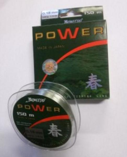 Fishing line TRAPER Bushido Power 3,25kg 150m 0,16mm 29054