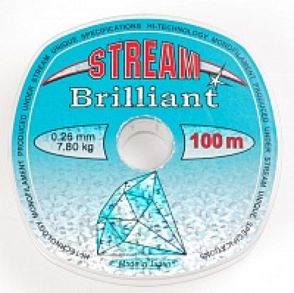 Tamiil STREAM Brilliant 100m 0,225mm 6,00kg
