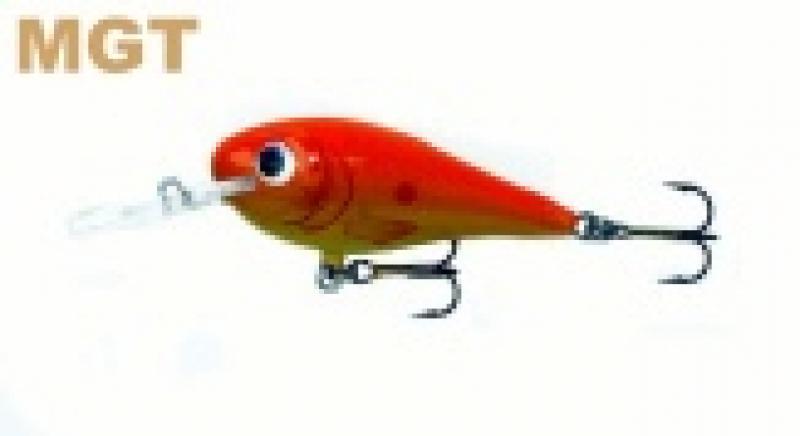Voobler GOLDY Fighter 4,5cm uppuv värv MGT