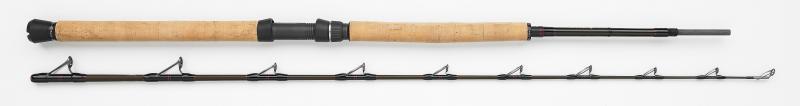 """Fishing rod WESTIN W4 Boat 7´6""""/225 cm XH 20-30 lbs./150-400 g 2 sec. FR35760"""