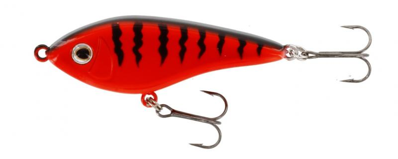 Jerk-lant WESTIN Swim 100mm 32g Suspending Red Tiger