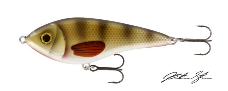 Voobler WESTIN Swim 120mm 53g Intermediate Crystal Perch WS22065
