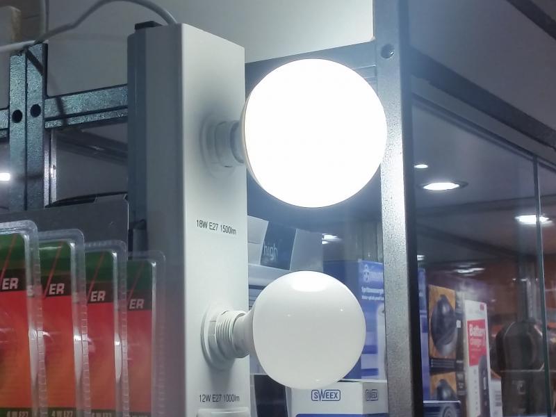 Led-lamp G120 18W E27 - 1.500lm