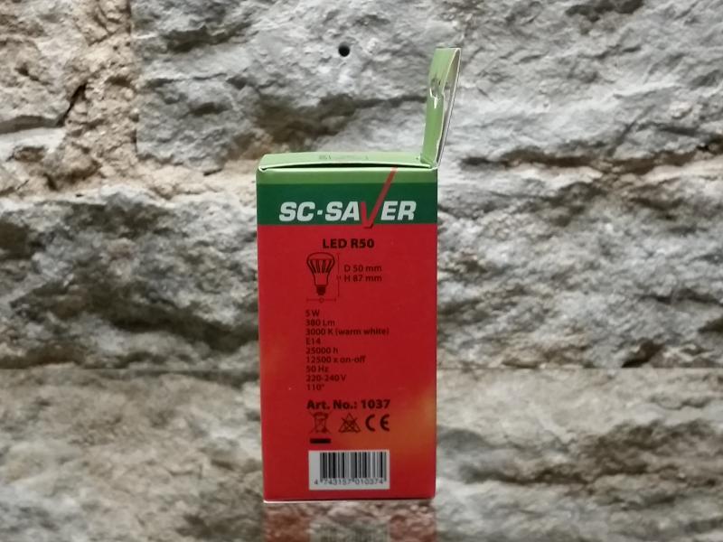 Led pirn 5W, E14 - 400lm