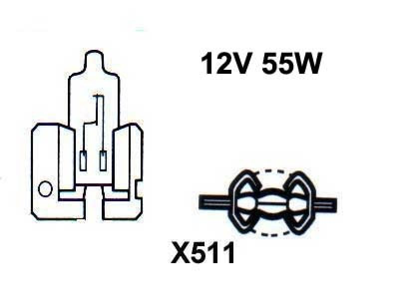 Autopirn H2 12V 55W