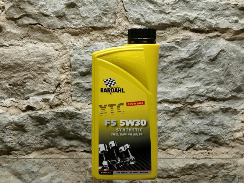 Mootoriõli 5W30 XTC FS (A1-B1, A5-B5) 1L Bardahl 50851
