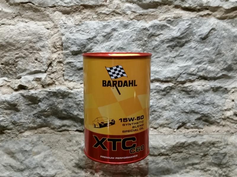 Mootoriõli 15W50 XTC C60 1L Bardahl 424040