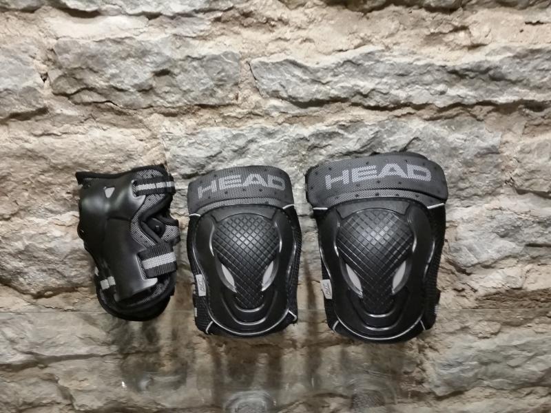 Rulluisu kaitsmed 3 osalised XL HEAD