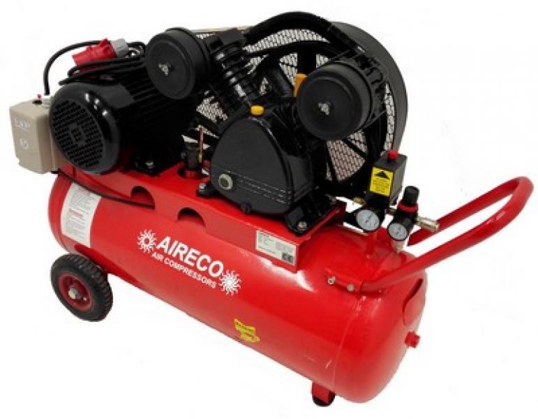 Kolbkompressor 4KW paak 100L AIRECO