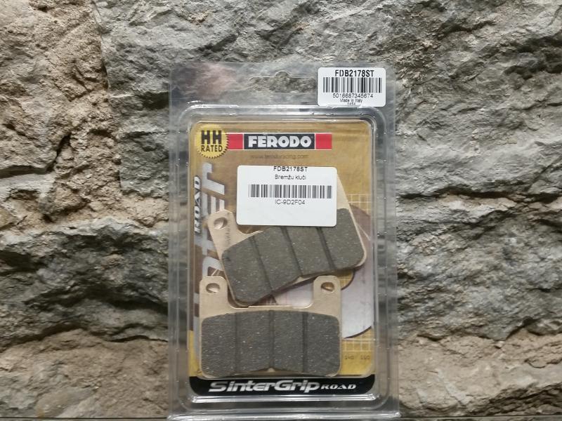 Piduriklotsid E. Ferodo FDB2178ST