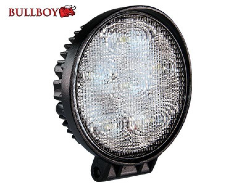 LED-töötuli, 9-32V, 6x3W, 1080lm, IP68, EMC-sertifikaadiga Bullboy