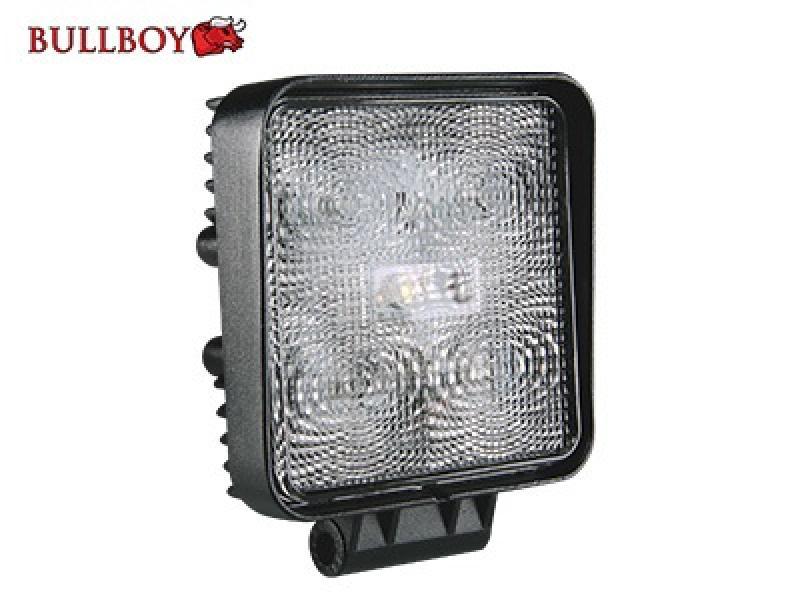 LED-töötuli, 10-30V, 5x3W, polükarbonaatklaas, EMC-sertifikaadiga
