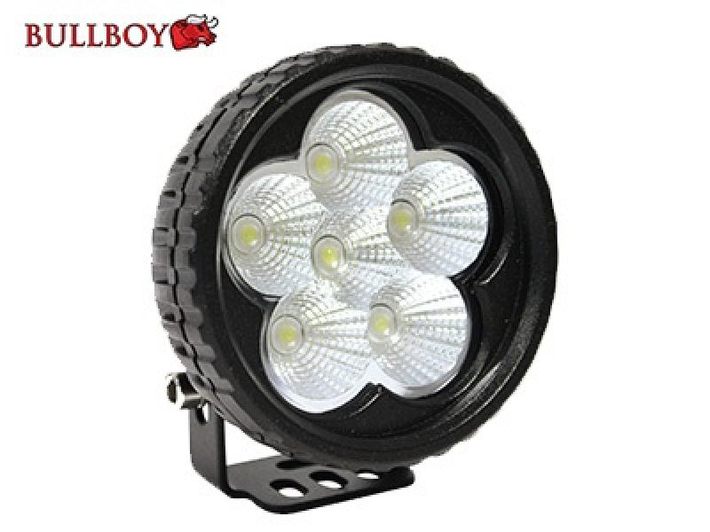 LED work light 9-32V 18W 6X3W CREE 1200lm IP67 EMC Certified Bullboy