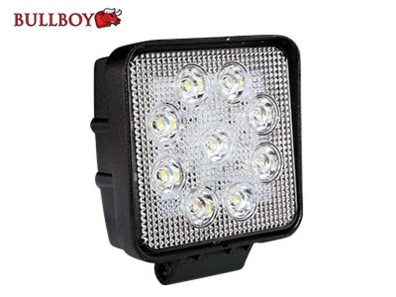 LED-töötuli, 9-32V, 27W, IP68, EMC-sertifikaadiga, Bullboy