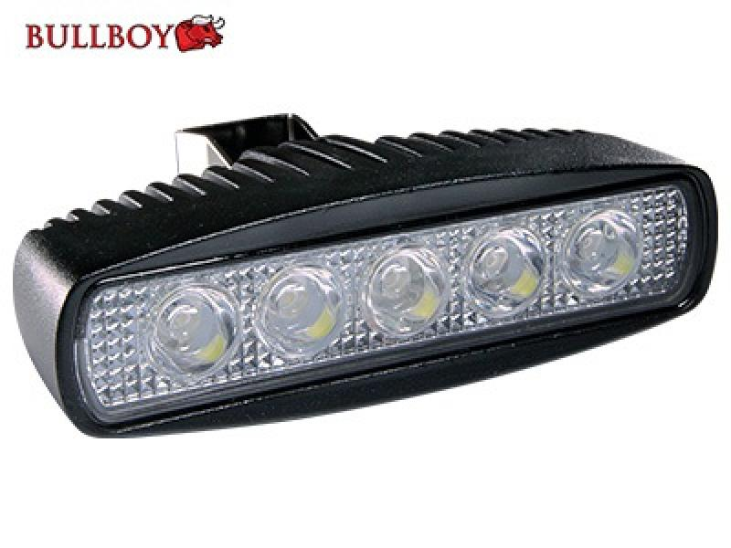 LED work light 9-32V 15W 800lm IP68 Bullboy