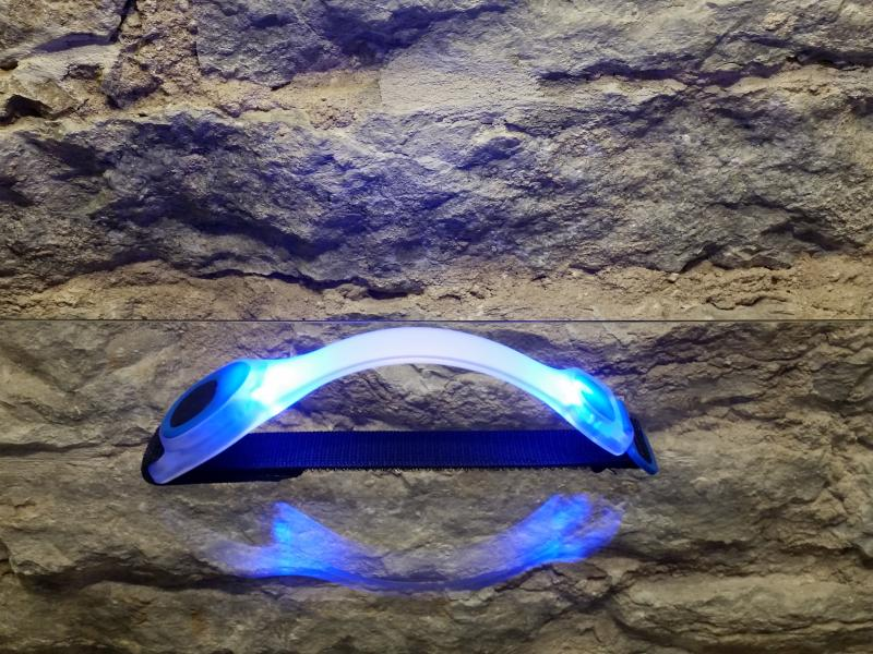 LED light, blue light
