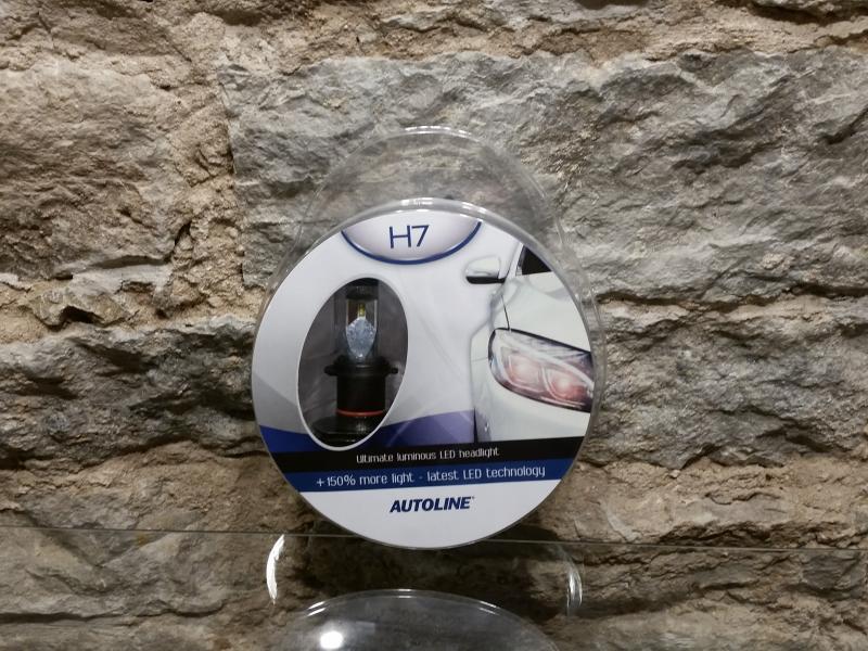 Autopirn H7 LED 12-24V 25W 6000K