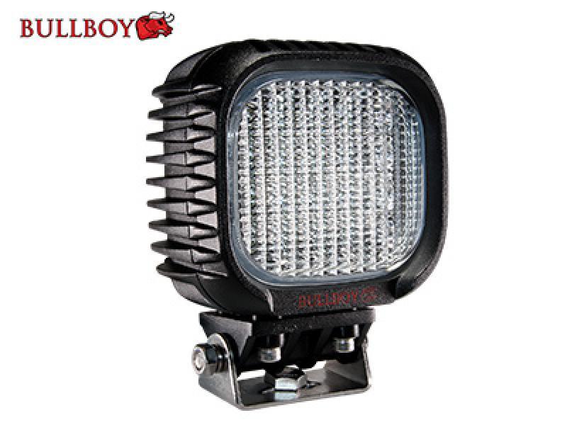 LED-töötuli 9-32V, 48W, 3800lm, EMC-heakskiit, IP68, Bullboy