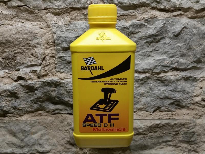 Automaatkäigukasti õli ATF Multi (II,III,IV) 1L Bardahl 432040