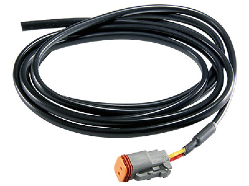 Deutsch DT 2-pin male connector with 2m cable
