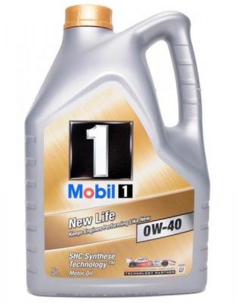Mootoriõli MOBIL 1 NEW LIFE 0W40 5L