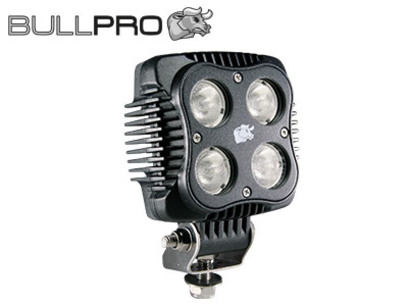 Töötuli Led 9-50V, 40W, EMC-sertifikaadiga, IP68, Bullpro