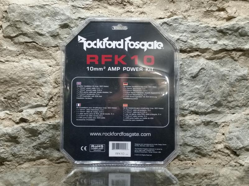 Võimendi paigalduskomplekt Rockford RFK10