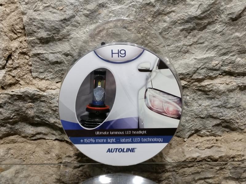 Autopirn H9 Led 25W, 12-24V, 6000K AUTOLINE
