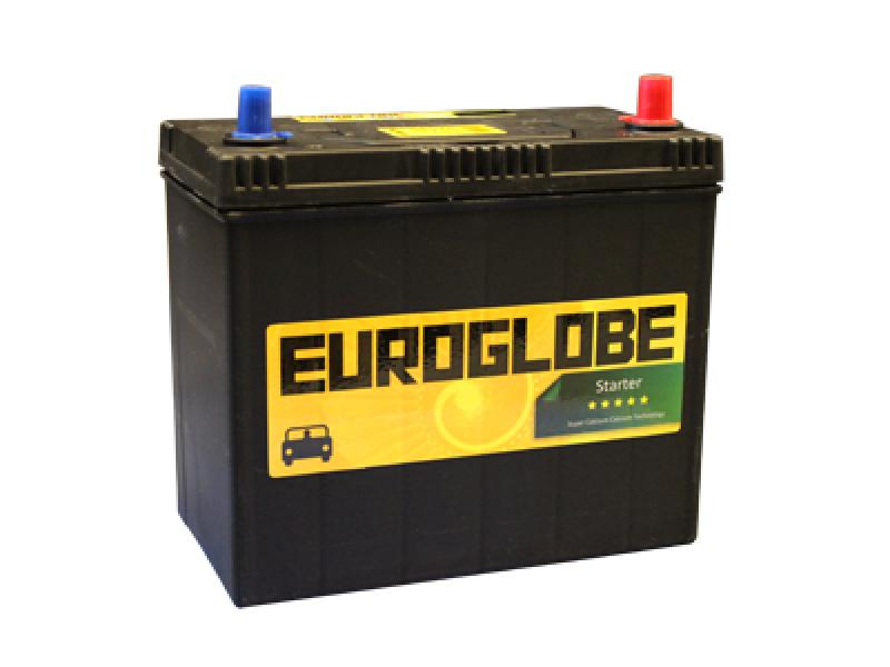 Car battery 45Ah 400 A (EN), 238x128x225 -/+ happeaku