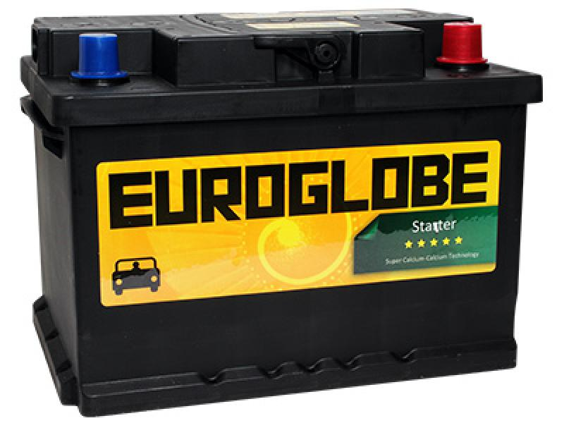 Car battery 62Ah 555A (EN) 242x175x175 -/+ happeaku