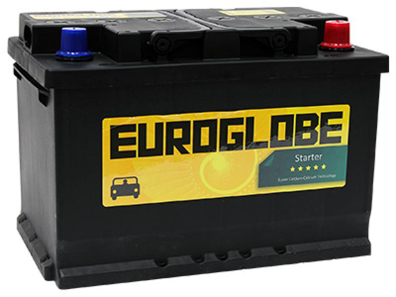 Car battery 78Ah 665A (EN) 278x175x190 -/+ happeaku