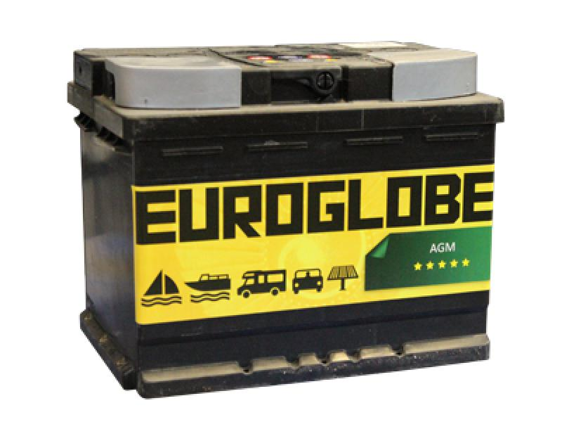 Car battery 55Ah 680A (EN) Start-Stop AGM -/+ 242x175x190