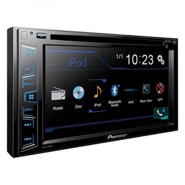 Autoraadio Pioneer 2 DIN 6,1 ekraan DVD AVH290BT