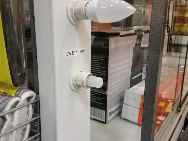 Lambipirn LED kodumasinale 2W, E14