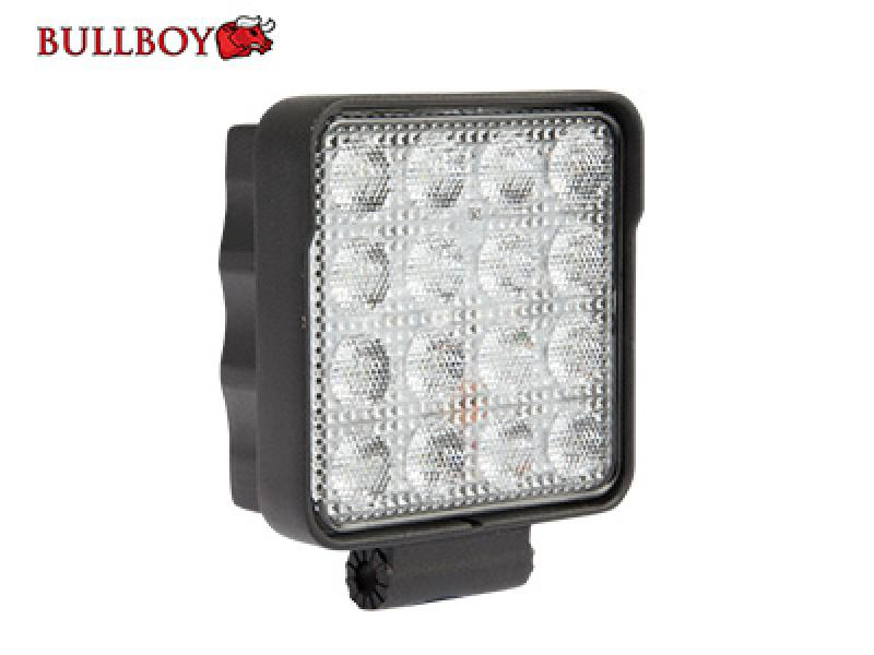 Work Light / Reverse Light 24W 10-30V 16x1.5W 3040lm Osram Led IP69K R23 R10 CE