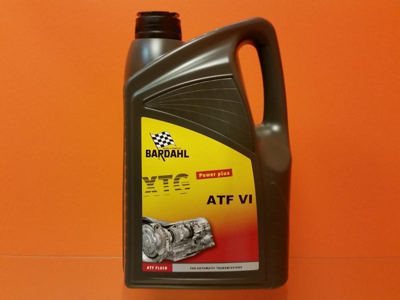 Automaatkäigukasti õli ATF D VI (6HP) 5L Bardahl 59655