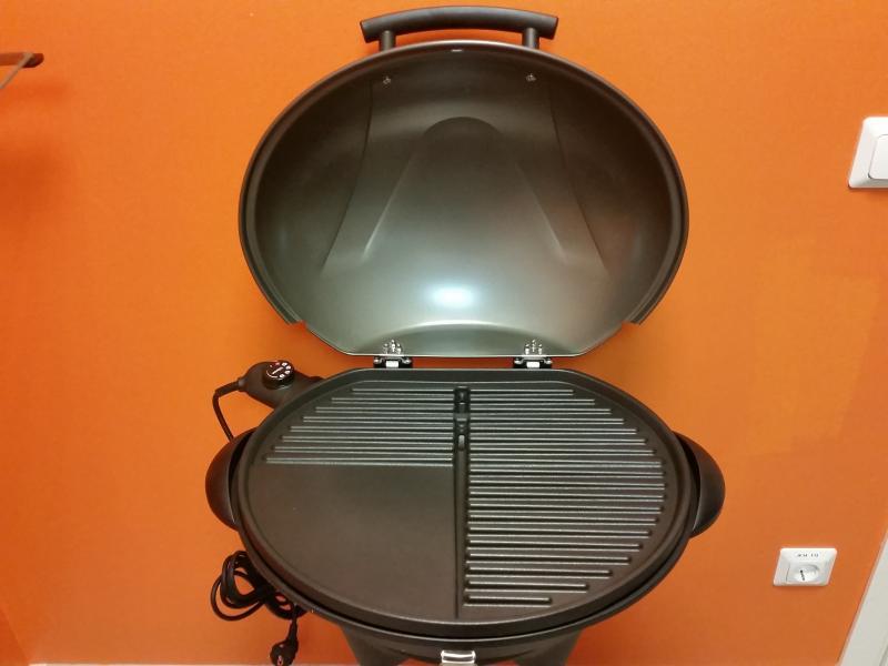 Elektriline plaadiga grill jalal 2200W Tristar