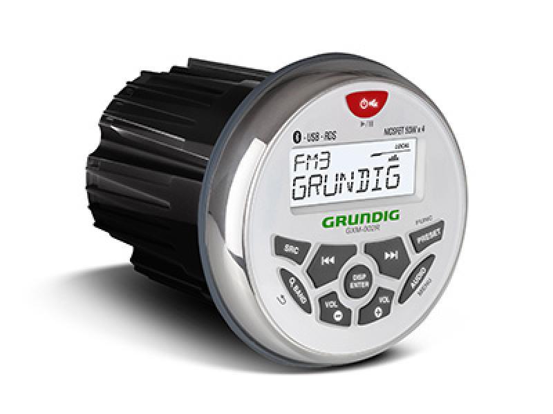 Paadiraadio Grundig Marine Bluetooth raadio, võimsus 4x50W