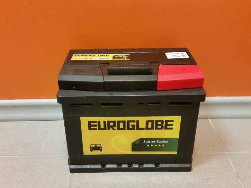 Car battery 65Ah 580A 242X175X190 -/+ happeaku