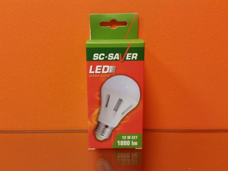 Led-lamp A60 12W, E27 - 1.000lm