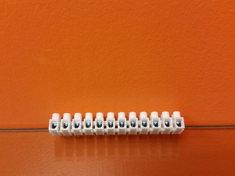 Klemmliist, 12 paari, 2,5-4,0mm 10tk