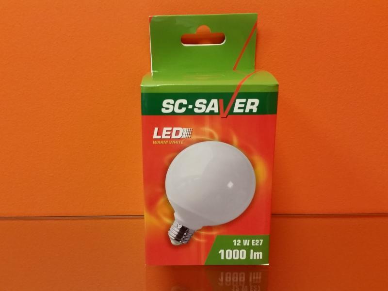 Lambipirn LED G95 12W E27 1000lm